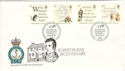1996-01-25 Robert Burns Stamps RNLI FDC (53817)