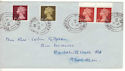 1968-02-05 Definitive Stamps Grimsby cds FDC (53873)