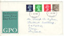 1968-07-01 Definitive Stamps Aberdeen FDI (53889)