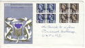 1968-09-04 Scotland Definitive Blocks Aberdeen FDI (53891)