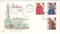 1972-10-18 Christmas Stamps London W1 FDC (53940)