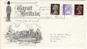 1967-06-05 Definitive Stamps Salisbury Festival Slogan FDC (5396