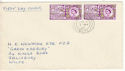 1963-05-07 Paris Postal Conference Salisbury cds FDC (54026)