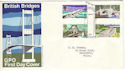 1968-04-29 British Bridges Bridge Canterbury FDC (54193)