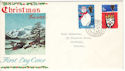 1966-12-01 Christmas Stamps Horsham cds FDC (54223)