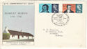 1966-01-25 Robert Burns Phos Alloway FDC (54229)