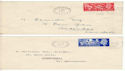 1951-05-03 Festival of Britain Manchester x2 FDC (54241))