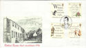 1996-01-25 Robert Burns Stamps Alloway FDC (54264)
