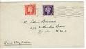 1938-01-31 KGVI Definitive Cricklewood FDC (54313)