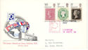 1970-09-18 Philympia Stamps London FDC (54341)