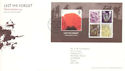 2007-11-08 Lest We Forget M/S T/House FDC (54385)