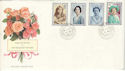 1990-08-02 Queen Mother 90th Lords SW1 cds FDC (54429)