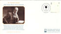2001-10-02 Nobel Prize Sir Norman Angell FDC (54497)