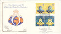 1990-04-10 Export and Technology SW1 Cotswold FDC (54551)