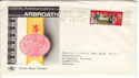 1970-04-01 Arbroath 650th Anniv Paddington Slogan FDC (54559)