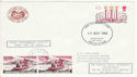 1980-11-19 Railway Llanberis Lake Celllydan Xmas FDC (54590)