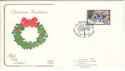1986-12-02 Christmas Stamp Glastonbury FDC (54605)