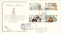 1987-09-08 Victoian Britain Stamps Southampton FDC (54611)