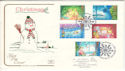 1987-11-17 Christmas Stamps Christleton FDC (54613)