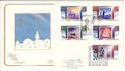 1988-11-15 Christmas Stamps Postling Hythe FDC (54622)