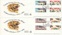 1981-03-25 Guide Dogs Wallasey Gutters x2 FDC (54640)