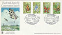 1981-05-13 Butterflies Chequered Skipper Bourton FDC (54644)