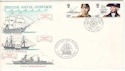 1982-06-16 British Naval Heritage Portsmouth FDC (54684)