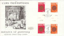 1980-02-05 Guernsey Definitive Coin Stamps Gutter FDC (54697)