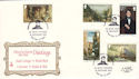1980-11-15 Guernsey Paintings Stamps Bureau FDC (54707)