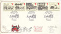 1984-07-31 Mail Coach Stamps Bath FDC (54744)