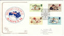 1984-09-25 British Council Ausipex London SW FDC (54745)