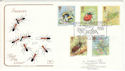 1985-03-12 Insects Stamps Meadow Bank FDC (54748)