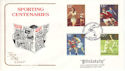 1980-10-10 Sport Amateur Boxing Association Wembley FDC (54764)