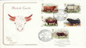 1984-03-06 British Cattle Chillingham FDC (54767)