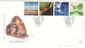 2000-04-04 Life and Earth Stamps Doncaster FDC (54810)