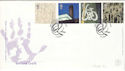 2000-05-02 Art and Craft Stamps Salford FDC (54811)