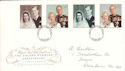 1997-11-13 Golden Wedding Stamps Truro FDI (54841)