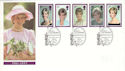 1998-02-03 Diana Princess of Wales Kensington W8 FDC (54854)