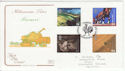 1999-09-07 Farmers Tale Stamps Stoneleigh FDC (54898)