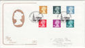 2000-04-25 Definitive Stamps London FDC (54910)