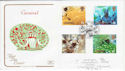 1998-08-25 Carnival Stamps Notting Hill FDC (54925)