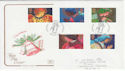 1998-11-02 Christmas Angels Godshill IOW FDC (54927)