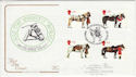1997-07-08 Queen's Horses Horse Guards Ave SW1 FDC (54944)