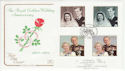 1997-11-13 Golden Wedding Westminster Abbey SW1 FDC (54948)