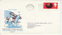 1967-09-19 Discoveries Paddington Boxed Slogan FDC (54957)