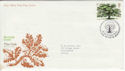 1973-02-28 British Trees Stamp Bureau FDC (54967)