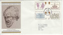 1973-08-15 Inigo Jones Stamps Bureau FDC (55029)