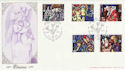 1992-11-10 Christmas Godshill Church IOW FDC (55043)