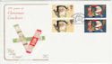 1997-10-27 Christmas Crackers Bklt Stamps Nasareth FDC (55065)