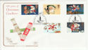 1997-10-27 Christmas Crackers Bethlehem FDC (55070)